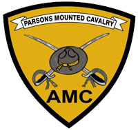 Parsons Mounted Cavalry Logo